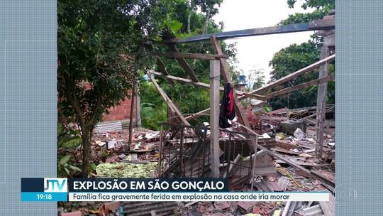 Mesmo ferido, homem retirou noiva de escombros após explosão em casa no RJ, conta testemunha