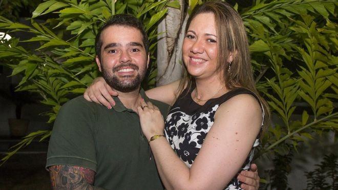 Letícia e Guilherme se reencontraram quando ele descobriu que ela- sua ex-namorada- havia decidido fazer um suicídio assistido (Foto: Rodinei Crescencio via BBC)