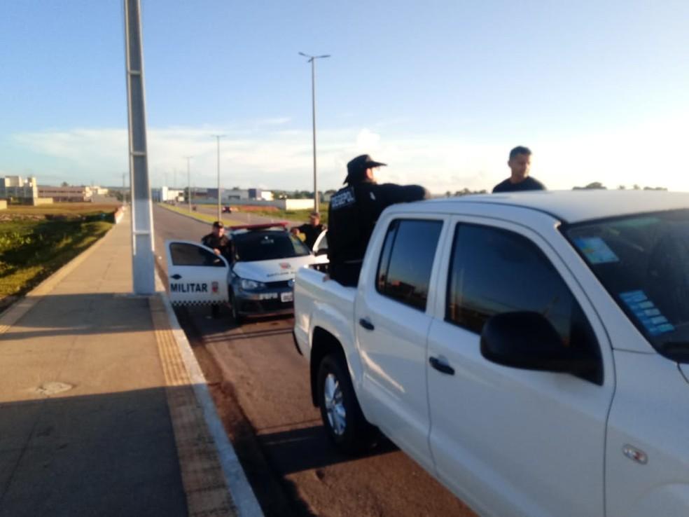 Operação teve participação das polícias Civil e Militar — Foto: Divulgação/Polícia Civil
