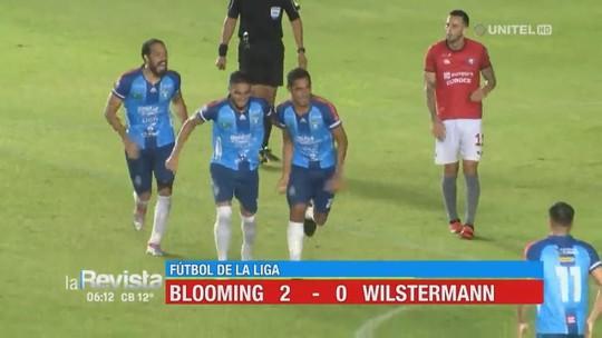 Rafael Barros balança as redes em vitória que coloca o Blooming na vice-liderança do Boliviano