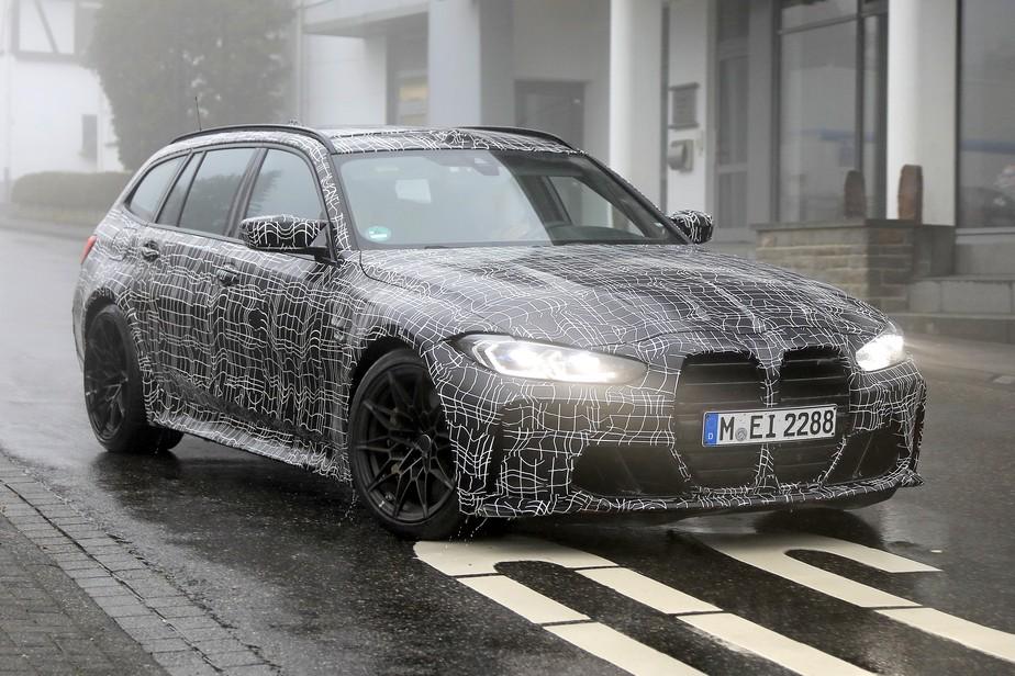 BMW M3 Touring já circula nas ruas para ser a perua dos sonhos de muita gente