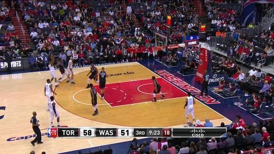 Beal vence duelo eletrizante com DeRozan, e Wizards empatam série contra os Raptors