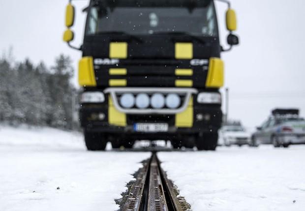 Estrada elétrica é inaugurada na Suécia  (Foto: eRoadArlanda)