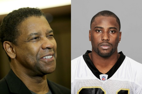 Denzel Washington e seu filho John David (Foto: Getty Images)