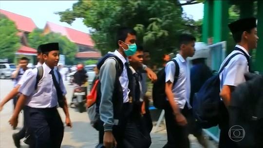 Fumaça de queimadas na Indonésia chega a outros países e causa crise entre governos