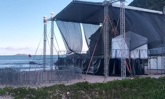 Shows em Geribá, Búzios