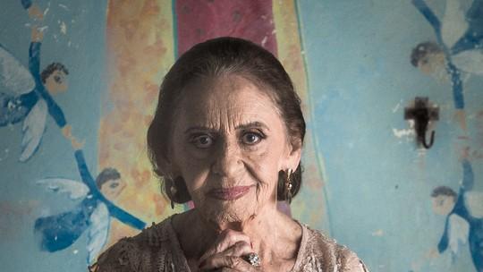 Laura Cardoso se despede de Caetana: 'Ela me fez mais feliz!'