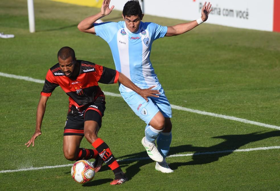 Londrina fica no empate com o Ituano, fora de casa — Foto: Gustavo Oliveira/Londrina EC