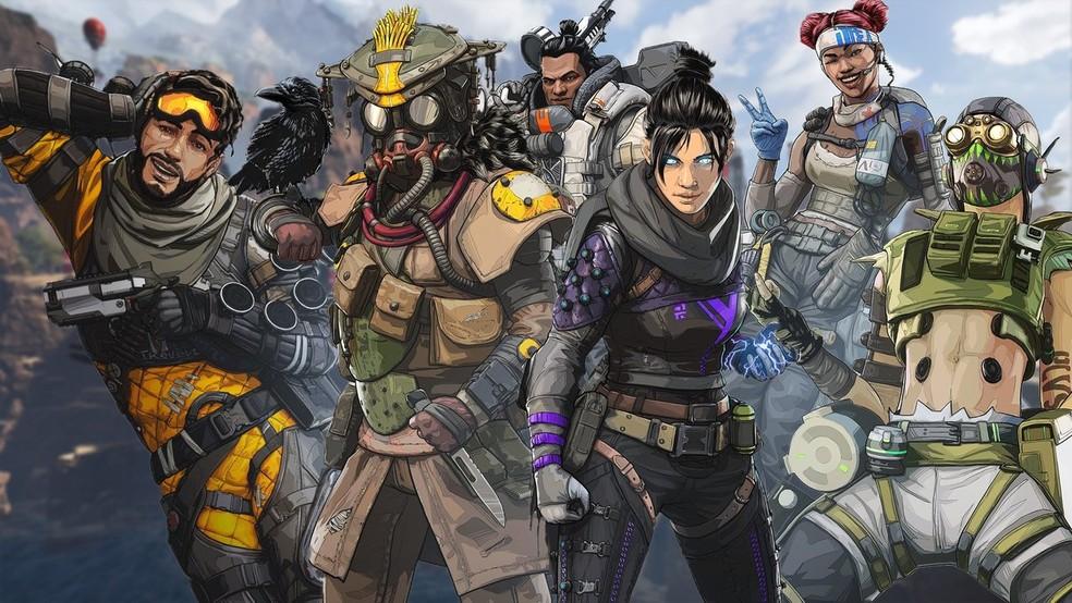 Apex Legends traz personagens com habilidades únicas — Foto: Reprodução/IGN