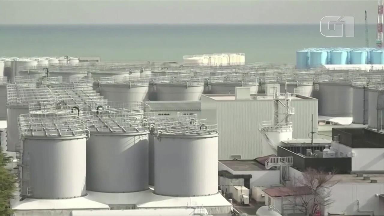 Japão decide despejar água de Fukushima no mar