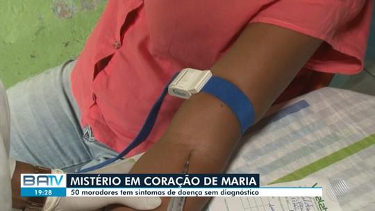 Cinquenta moradores do mesmo bairro apresentam sintomas de doença desconhecida na Bahia