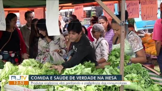 Produtos orgânicos vêm ganhando espaço e preferência dos consumidores do Sul do Rio