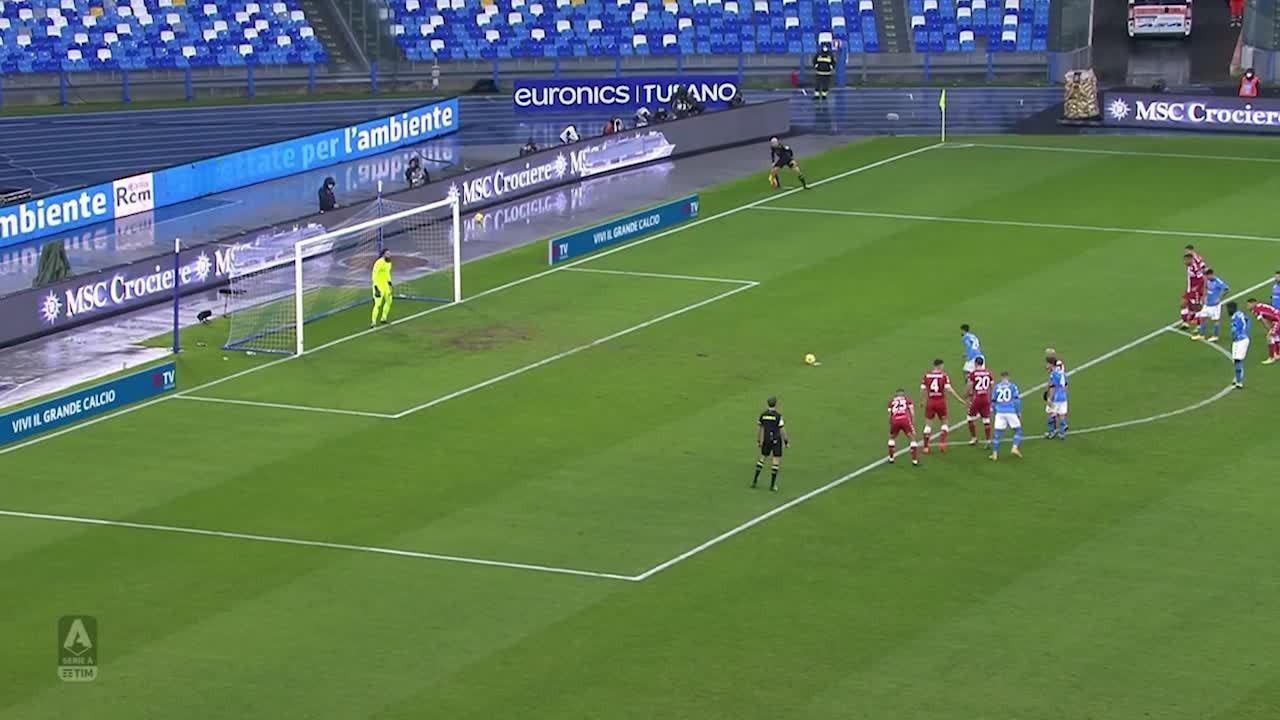 Melhores momentos: Napoli 6 x 0 Fiorentina, pelo Campeonato Italiano