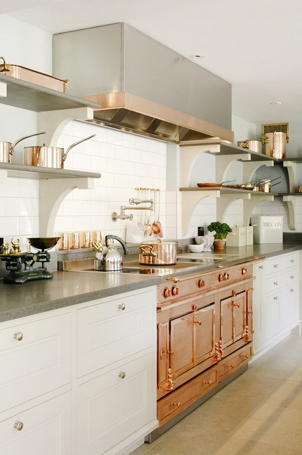 Beautiful white kitchen (Photo: reprodu)