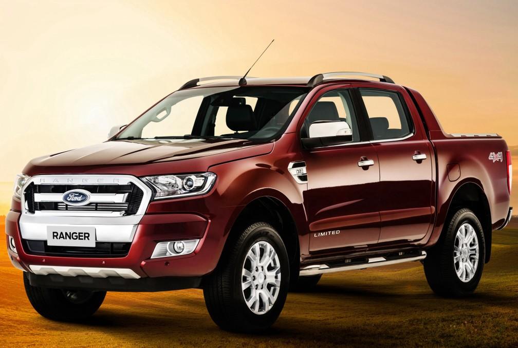 Ford Ranger Limited — Foto: Divulgação/Ford