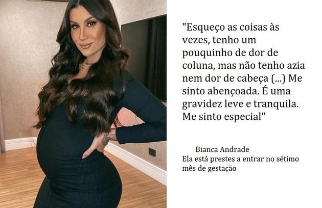 Bianca Andrade, que participou do 'BBB' 20, está grávida do youtuber Bruno Carneiro (Foto: Reprodução)
