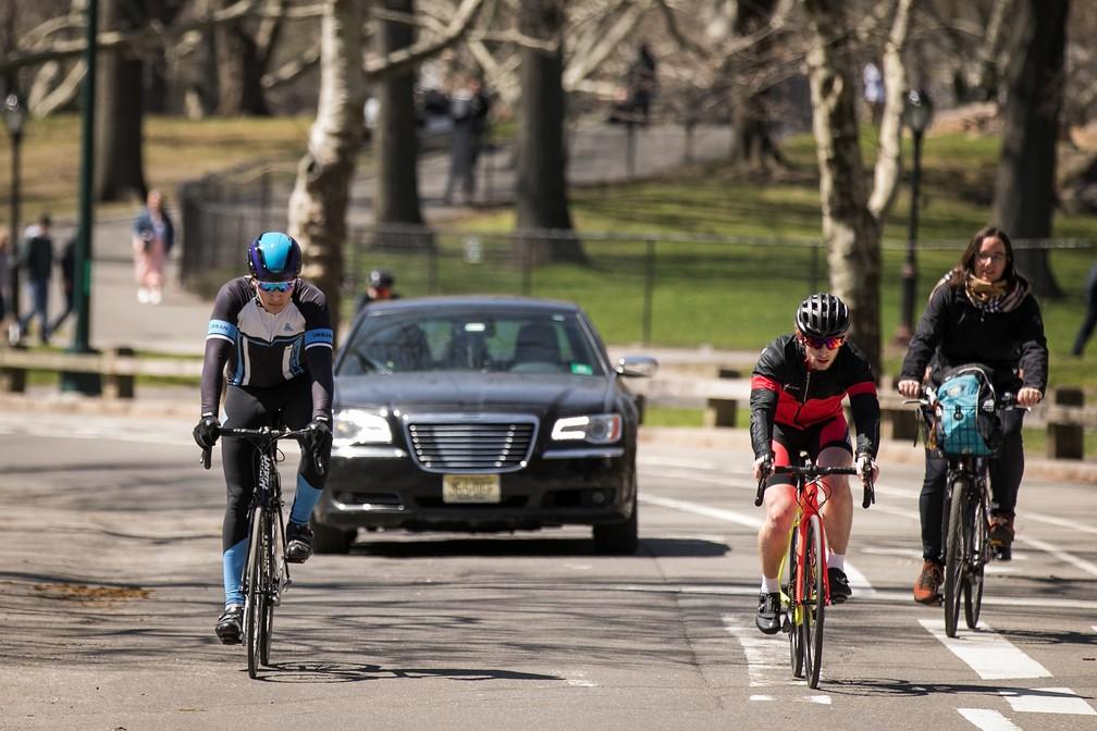 Prefeito de Nova York vai proibir circulação de carros no Central Park (Foto: Drew Angerer/Getty Images/AFP )