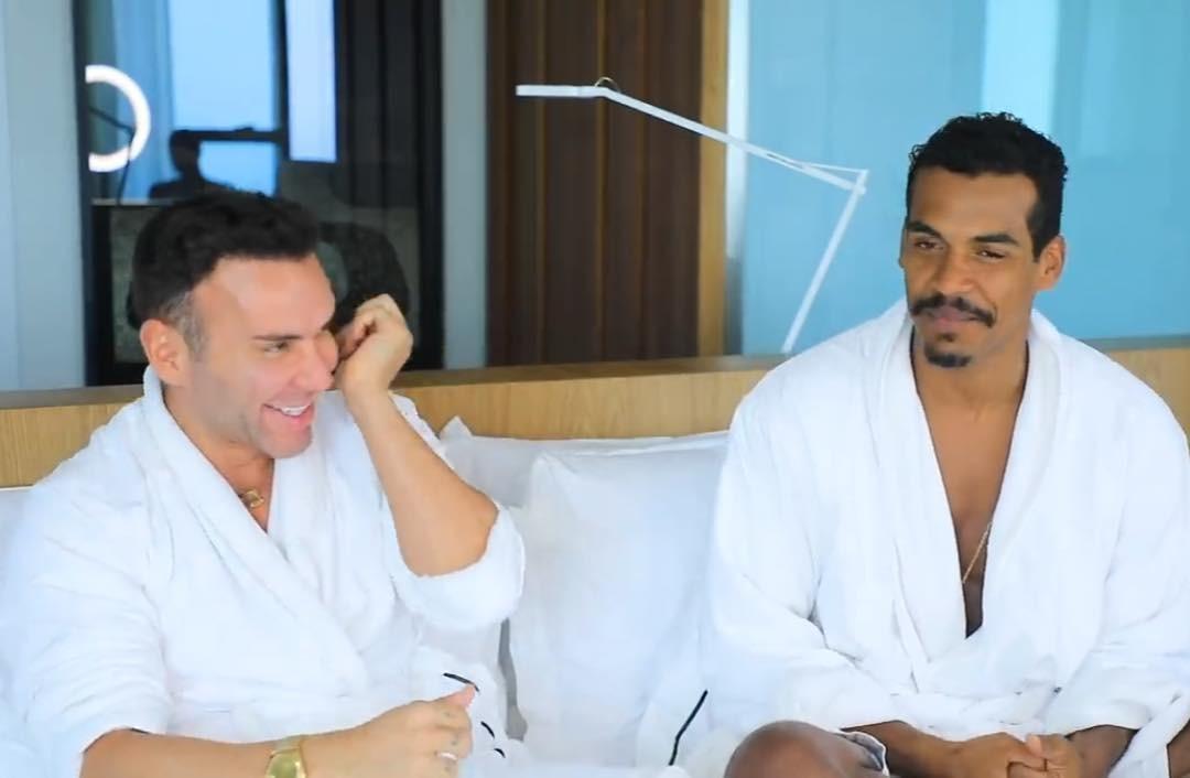 Marcello Melo Jr e Matheus Mazzafera (Foto: Reprodução / Instagram)