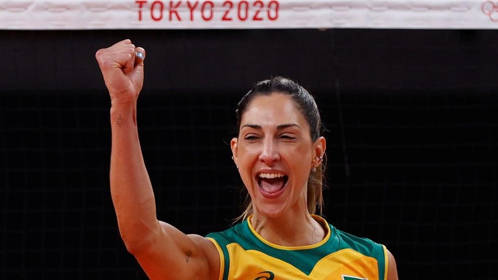 Carol Gattaz se torna medalhista do Brasil mais velha em Olimpíadas