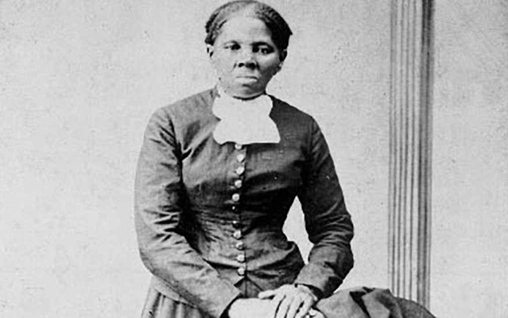 A ativista negra Harriet Tubman em imagem de arquivo da Biblioteca do Congresso americano — Foto: Biblioteca do Congresso dos EUA/Reuters