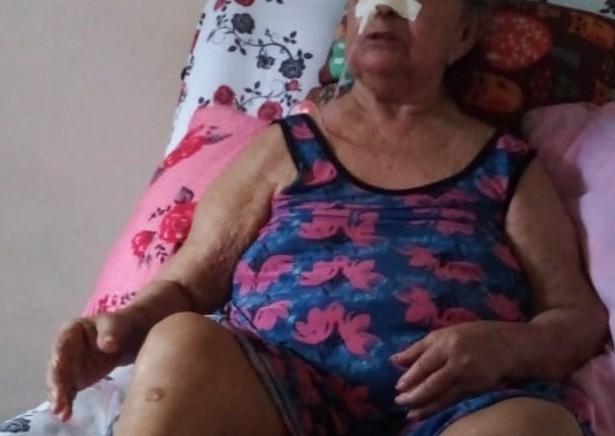 Familiares denunciam falta de alimentação especial e atendimento médico para paciente com Parkinson em RO