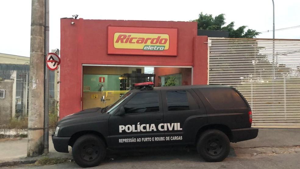Operação tem fundador da Ricardo Eletro como um dos alvos  — Foto: Danilo Girundi/TV Globo