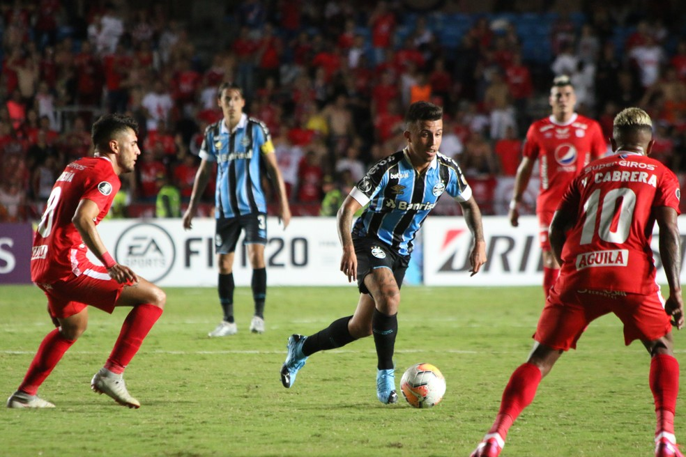 Matheus Henrique, do Grêmio — Foto: Eduardo Moura