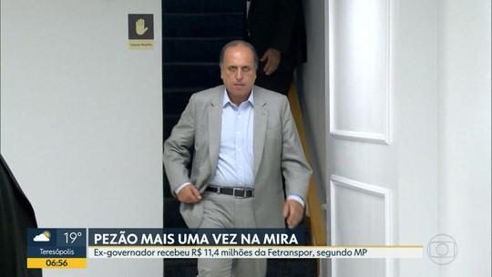 MP diz que Pezão recebeu R$ 11,4 milhões da Fetranspor