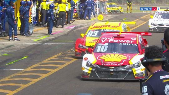 Safety car, pit stops e desclassificações: a confusão da Stock Car em Campo Grande