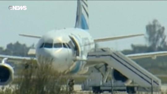 Sequestro de avião termina no Chipre após sete horas de negociação
