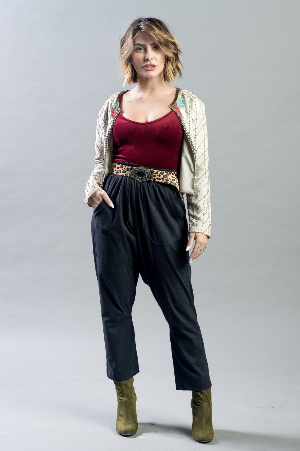 Inpire-se no visual de Betina para montar um look superatual  Foto Raquel CunhaTV Globo