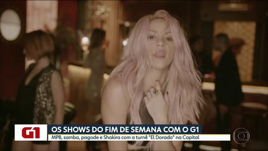 Shakira, Melim e Sorriso Maroto estão na agenda de shows de SP