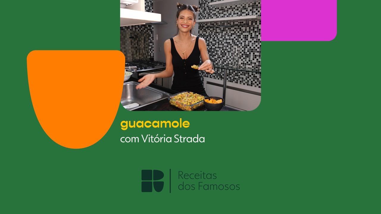 Vitória Strada ensina a fazer Guacamole