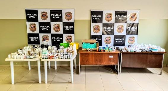 Polícia apreende remédios sem receita e produtos vencidos em Pederneiras