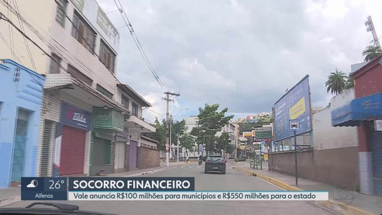 Vale vai doar R$ 100 milhões a cidades mineradoras que acumulam prejuízos após Brumadinho