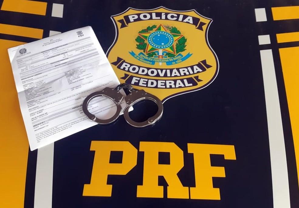 PRF prende foragido da justiça condenado pelo crime de estupro de vulnerável — Foto: Cedida