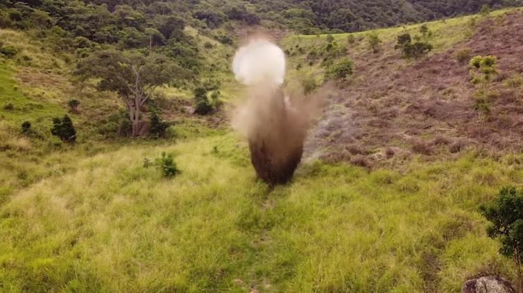 VÍDEO: Polícia detona explosivos apreendidos em operação em Igreja Nova, AL