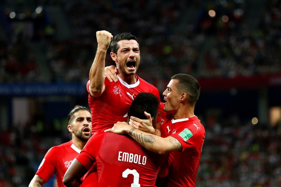 Suíça empata com a Costa Rica e enfrentará a Suécia (Foto: Murad Sezer/Reuters)
