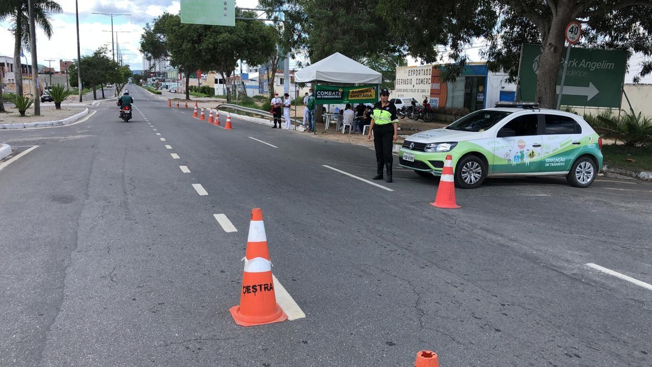 Barreiras sanitárias alcançaram mais de 700 mil pessoas em Caruaru, mostra balanço