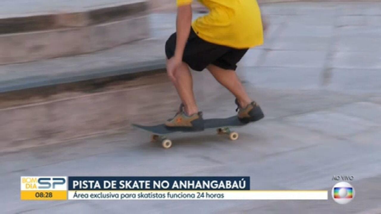 Prefeitura de São Paulo libera área para skate no Vale do Anhangabaú