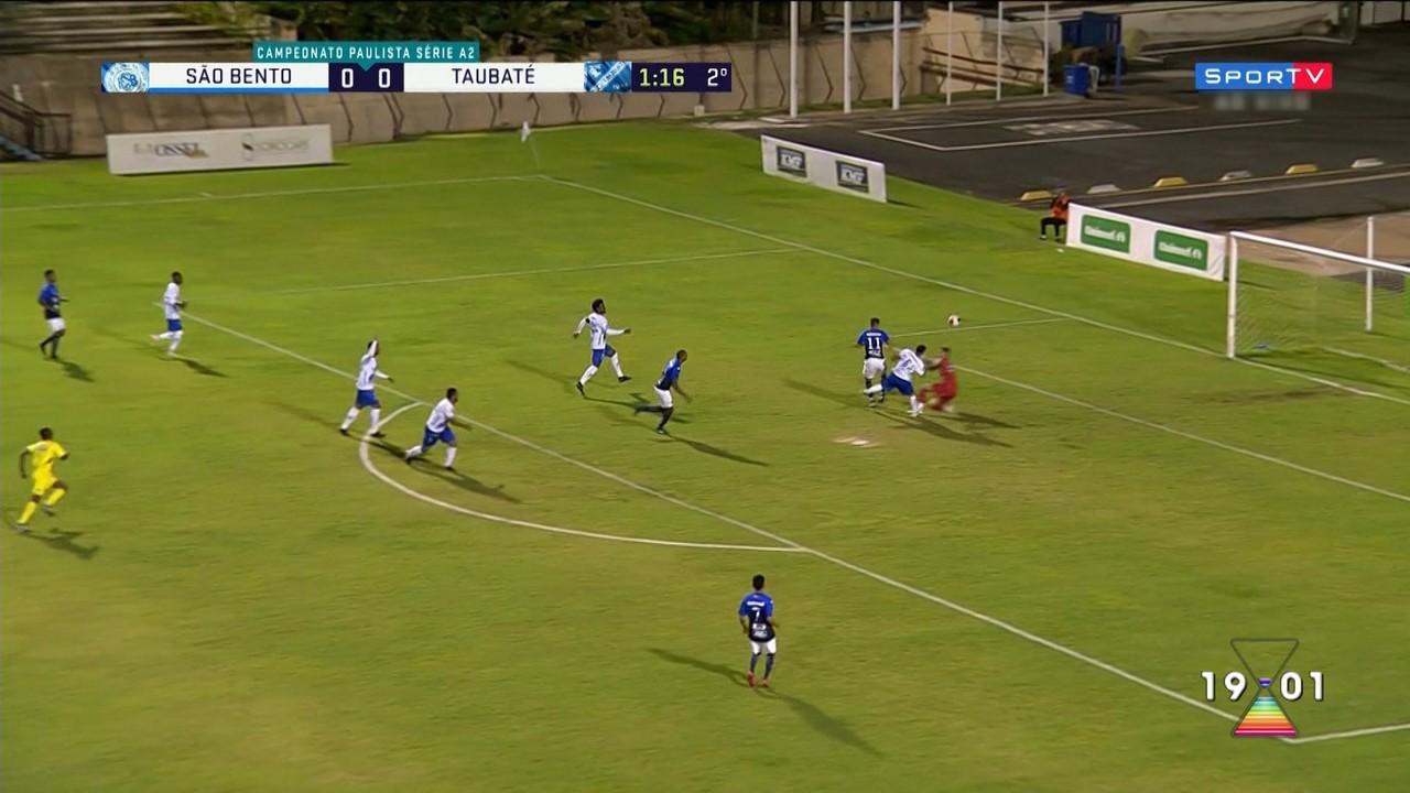 Taubaté é eliminado na A-2 do Paulista