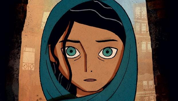 The Breadwinner (Cartoon Saloon) | Feita por um estúdio independente irlandês e produzida por Angelina Jolie, a animação chama a atenção pelos traços estilizados, diferentes dos que se veem nos filmes comerciais. Na história, depois de seu pai ser preso,  (Foto: Divulgação)
