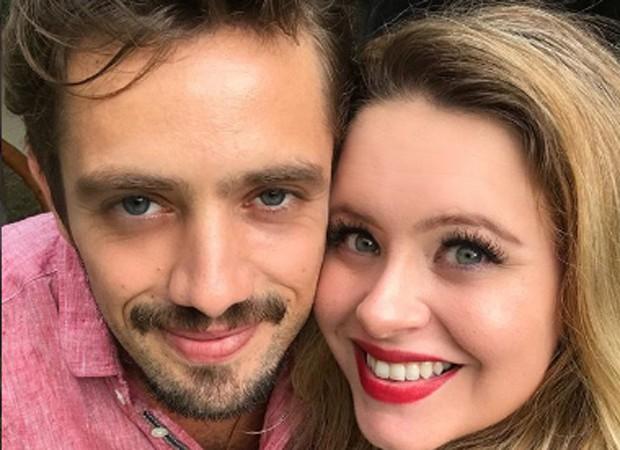 Rafael Cardoso e a mulher, Mariana Bridi (Foto: Reprodução/Instagram)