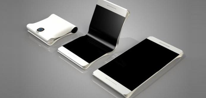 Designer Max Borhof mostra como seria o possível smartphone (Foto: Reprodução/Max Borhof)