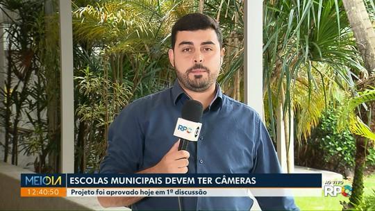 Câmara de Maringá aprova, em primeira discussão, lei que prevê instalação de câmeras nas salas de aula