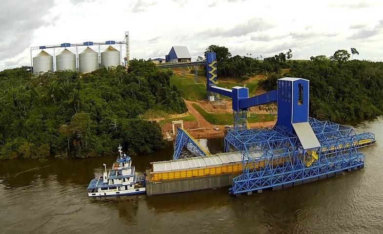 bunge-porto-Pará-Miritituba (Foto: Heryka Cilaberry/Wikimedia Commons)