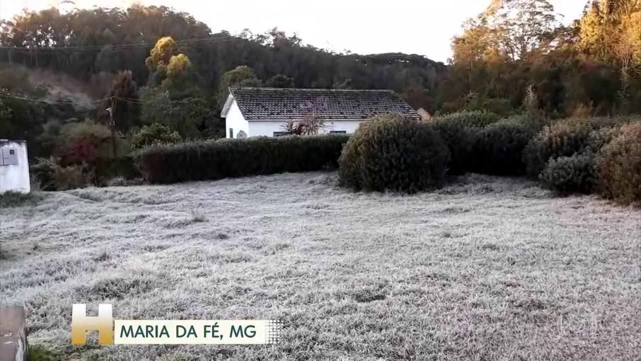 Por que pontos do Sudeste ainda estão registrando temperaturas negativas?