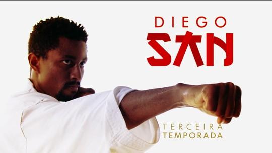 Temporada 3 / 6º episódio: DiegoSan derrota campeão mundial e embala no ranking