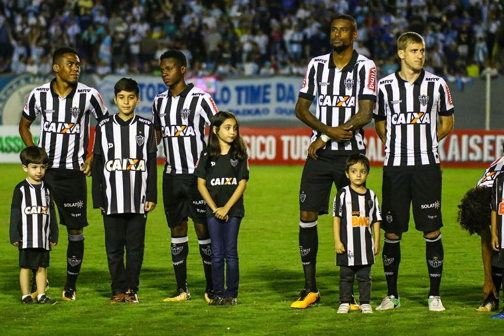 Elias eFelipe Santana atuaram juntos no Galo — Foto: Bruno Cantini / Atlético-MG