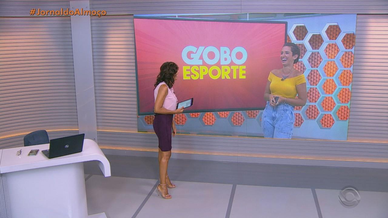 Confira os destaques do Globo Esporte RS nesta segunda-feira (25)